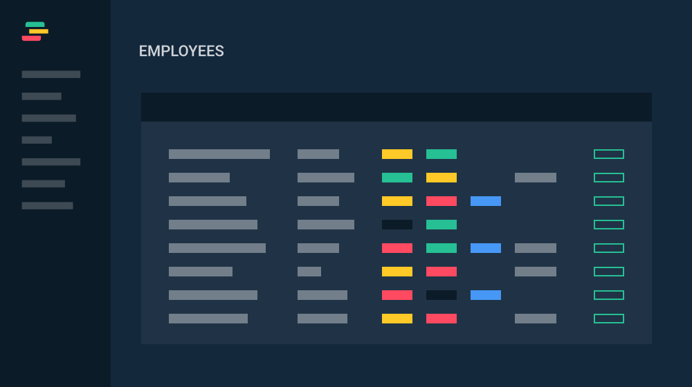 image illustrating Check all employees at once feature